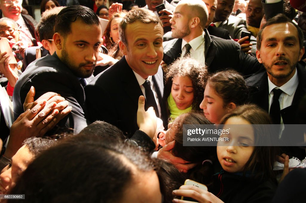 Alexandre Benalla Stock Photos and Pictures   Getty Images Newly elected French president Emmanuel Macron with Alexandre Benalla  attends a ceremony at the Luxembourg Gardens