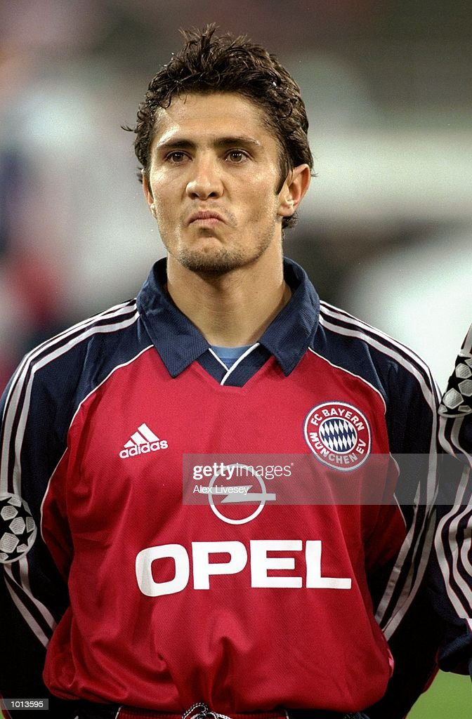 Bixente Lizarazu Pictures   Getty Images Portrait of Bixente Lizarazu of Bayern Munich lining up to face Rangers in  the UEFA Champions