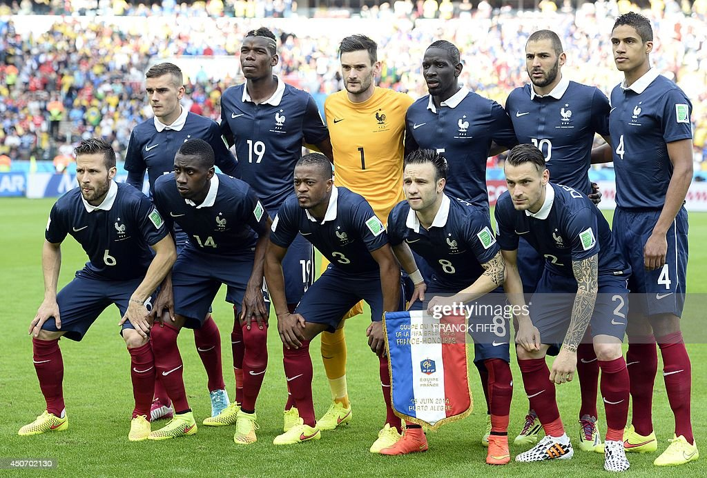 France National Soccer Team Stock Photos and Pictures   Getty Images The French national team pose France s forward Antoine Griezmann France s  midfielder Paul Pogba France s goalkeeper and