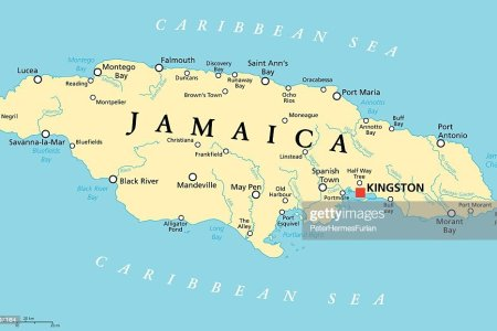 jamaica political map vector id469997164?s=170667a&w=1007