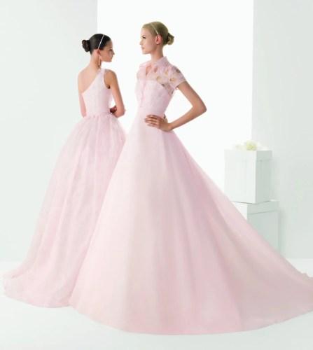 rosa clara wedding dresses south africa blush colored wedding dress 3 Blush Colored Rosa Clara Wedding Dresses That Ll Make You Cry Pink Tears Of Wonderful