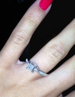 Unusual Real Girl Diamond Engagement Rings Engagement Rings That Are More Than Miley Miley Cyrus Engagement Ring Back On Miley Cyrus Engagement Ring 2016