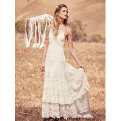 Small Crop Of Boho Wedding Dress