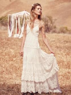 Small Of Boho Wedding Dress
