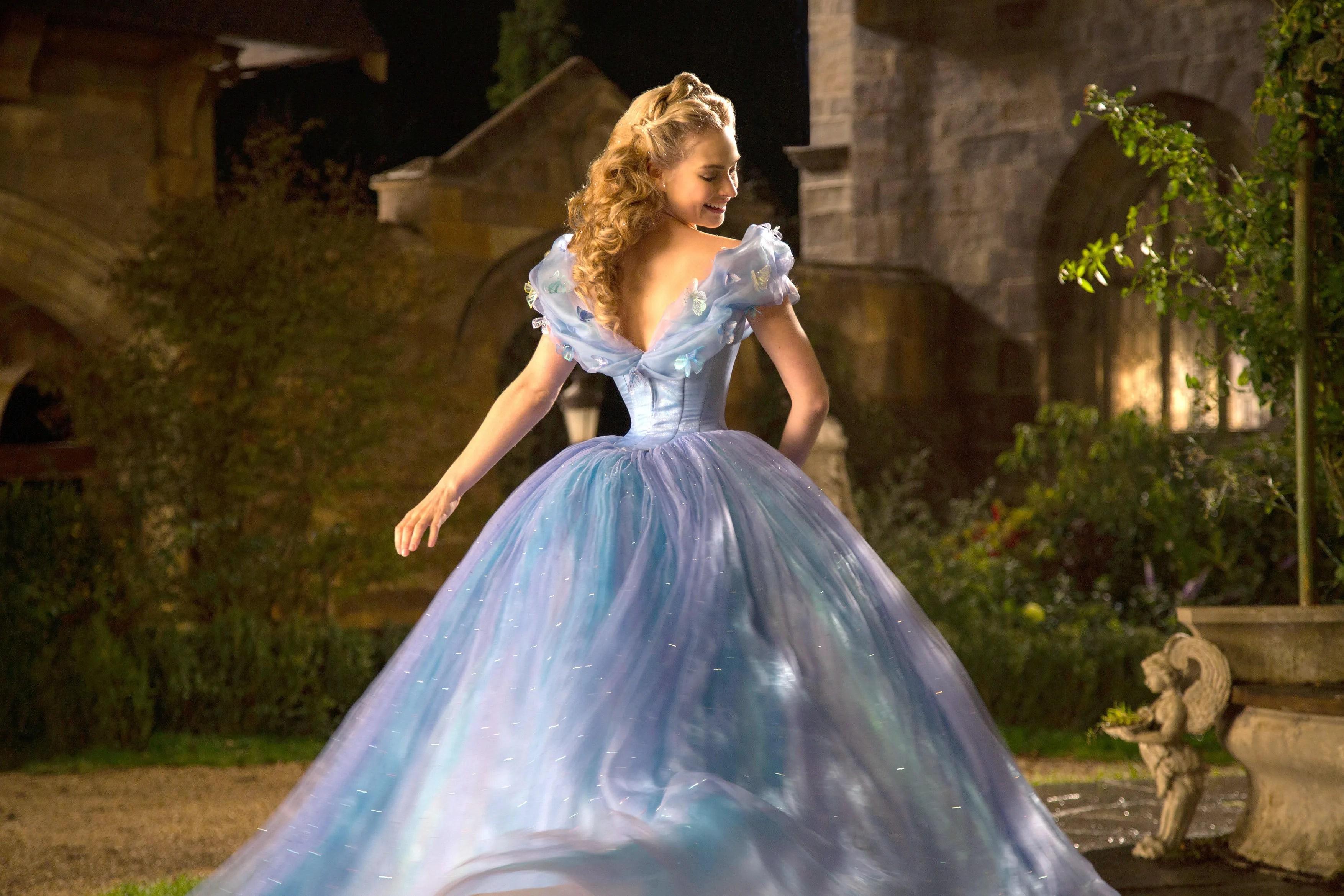 wedding dress like cinderella story cinderella wedding dresses This Real Life Cinderella Wore A Magical Light Up Wedding Dress Glamour