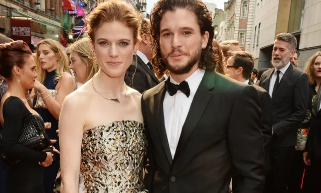 Rose Leslie Literally Doesn t Have Time to Marry Kit Harington   Glamour The Olivier Awards With Mastercard   VIP Arrivals