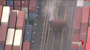 Port of Metro Vancouver fire: Container fire extinguished