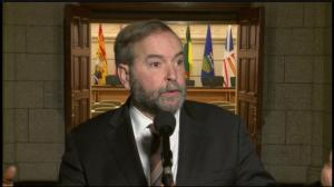 Mulcair concerned that specifics of sex allegations being played out publicly