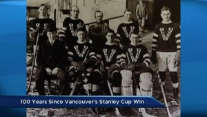 Historic significance of Vancouver Millionaires Stanley Cup win