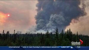 Wildfire situation in northern Saskatchewan