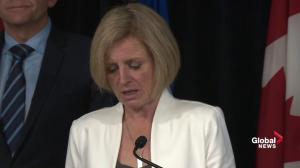 Rachel Notley says Fort McMurray schools won't re-open until September