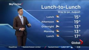 Saskatoon weather outlook – September 3