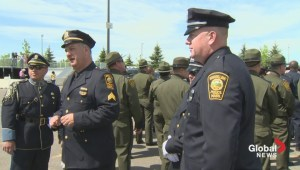 Thousands of officers attend funeral
