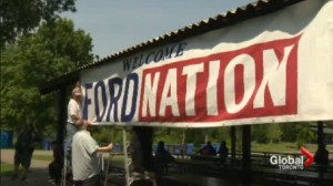 Ford Fest rallies supporters in Scarborough