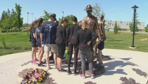 Moncton RCMP constables remembered during third annual 'Fathers Memorial Run'