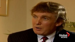 Trump tells reporter he's 'fortunate' he doesn't run for politics due to sexist views during 1993 New Zealand interview