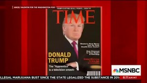 MSNBC 'Morning Joe' hosts attack Donald Trump's fake TIME cover and 'tiny hands'