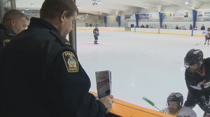 Winnipeg police start monitoring minor hockey games