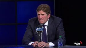 Babcock questioned if he lied to Sabres about his intentions to coach in Buffalo