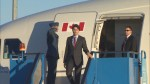 Prime minister Justin Trudeau arrives in Turkey for G20 summit