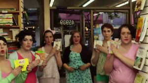 'All about them books' parody video goes viral