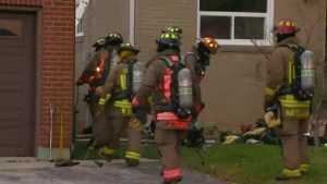 Man dead in North York house fire