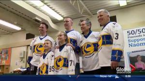 Saskatoon Blades, MD Ambulance team up to help girl fighting cancer