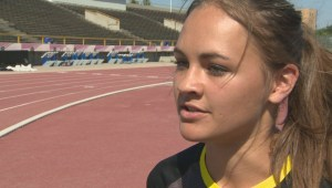 Manitoban track star snatches 3 medals at Canada Summer Games and works on future goals