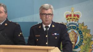 Alberta RCMP speak about constable charged with 2 counts of sexual assault