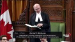 Conservative MP, House Speaker bump heads over wording on absence of PM Trudeau