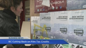 BIV: Film and television tax credit cut by 5%