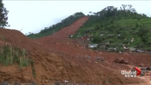 Sierra Leone in 'state of grief' after deadly flooding