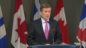 Tory is satisfied with federal budget allocation for public transportation