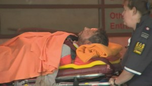 Construction worker breaks legs on CNE grounds