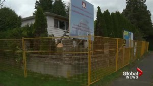 Another vacant property catches fire in Vancouver