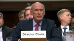 U.S. Director of National Intelligence declines to discuss private conversations with Trump