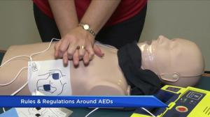 Rules and regulations around AEDs in British Columbia