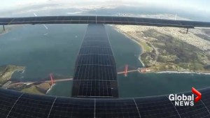 Timelapse captures Solar Impulse flight around the world