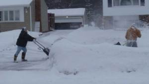 Snow shoveling gets heated after neighbour tries to help