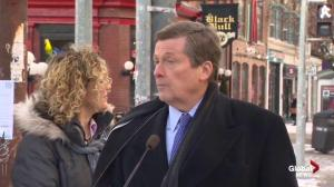 Mayor Tory certain crackdown on illegal parking won't hurt businesses