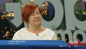 MLA Laurie Blakeman discusses Bill 10