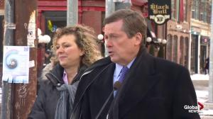 Mayor Tory announces zero tolerance policy for illegal parking