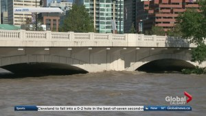 What factors contribute to excess runoff in the Bow River Basin