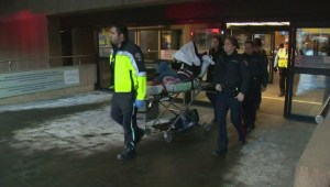 RAW: Passengers taken to hospital after plane forced to land in Calgary