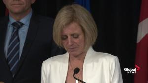 Rachel Notley discusses 5 conditions needed to be met before residents can return to Fort McMurray