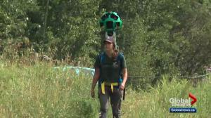 Google Trekker photographs Alberta habitat for virtual tour