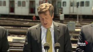John Tory laments 'years' wasted not addressing Toronto's transit and traffic congestion issues