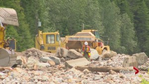 Trans Canada washed-out west of Revelstoke