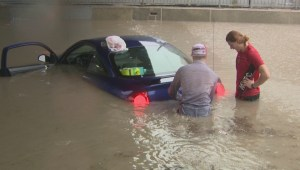 Winnipeg hit by flash flooding