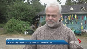 BC man fights off grizzly bear